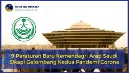 9 Peraturan Baru Kemendagri Arab Saudi Sikapi Gelombang Kedua Pandemi Corona