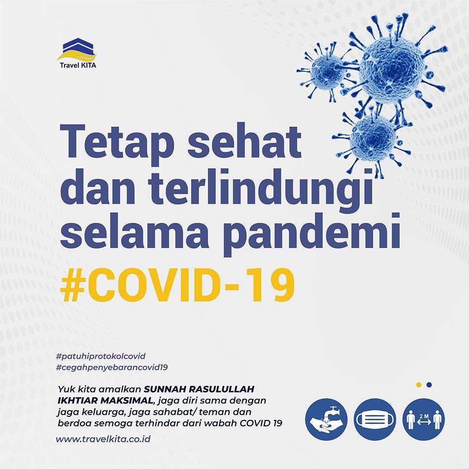 Tetap sehat dan terlindungi selama pandemi COVID19
