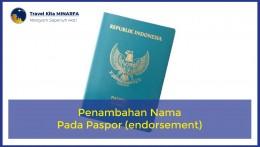 Penambahan Nama Pada Paspor (endorsement)